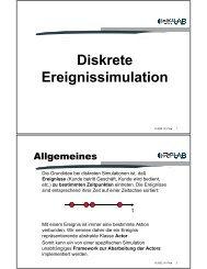 Diskrete Ereignissimulation - Softwareresearch.net