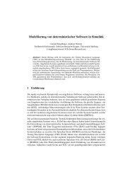 Modellierung von deterministischer Software in Simulink