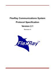 FlexRay Communications System Protocol Specification Version 2.1 ...