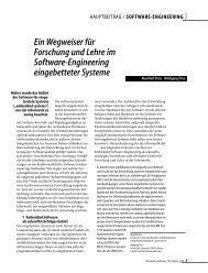 Ein Wegweiser für Forschung und Lehre im Software-Engineering ...