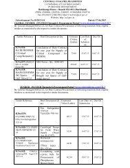 RA/III/HEMM/R C/Critical Comp/Retender/1 3 Conclusion of ... - CCL