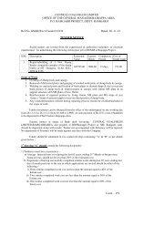 RAMGARH Ref.No. GM(R)/Excv/T - CCL
