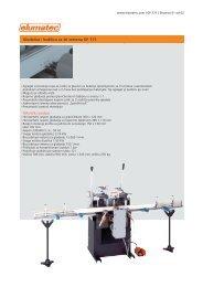 Tehnički podaci Glodalica i bušilica sa tri vretena GF 171 -  Elumatec