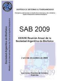 LIBRO DE RESÚMENES click aquí - Facultad de Ciencias Exactas ...