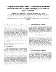 An Approach for Time Series Forecasting by simulating Stochastic ...