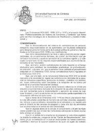 Universidad Nacional de Córdoba - Digesto UNC - Universidad ...
