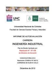 INGENIERÍA INDUSTRIAL - Facultad de Ciencias Exactas, Físicas y ...