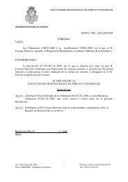 Texto Ordenado de las Ordenanzas Nº 4/HCD/06 y 3/HCD/07 ...
