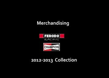 Merchandising - Ferodo Racing