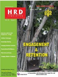 Balancing The Work Life - National HRD Network