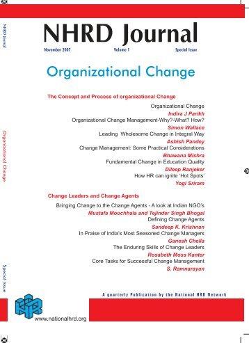 NHRD Journal - National HRD Network