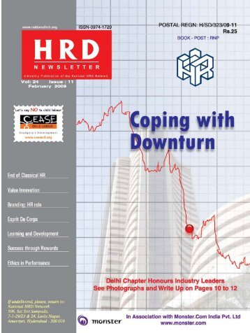 HRD February 2009.pmd - National HRD Network