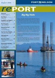 August 2008(pdf) - Port Nelson