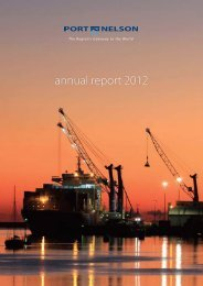Port Nelson Annual Report 2012 (pdf)