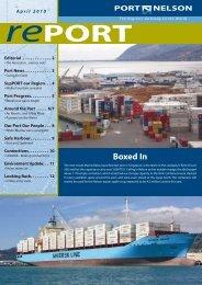April 2010 (pdf) - Port Nelson