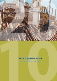 Port Nelson Annual Report 2010 (pdf)