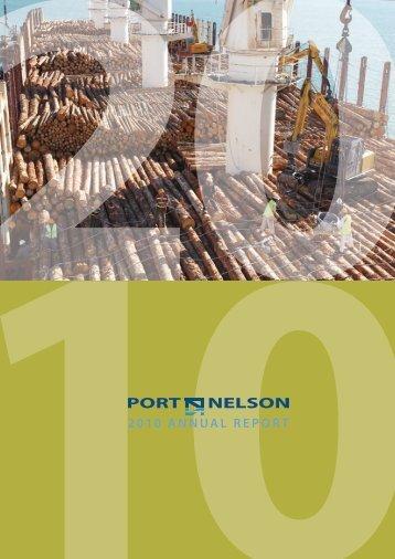Port Nelson Annual Report 2010 (pdf)