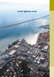 Port Nelson Annual Report 2011 (pdf)