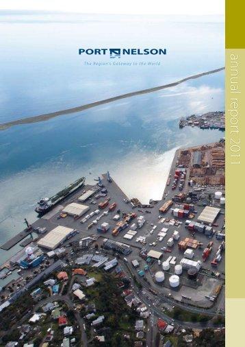 Port Nelson Annual Report 2011 (pdf)