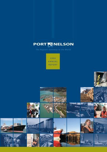 Port Nelson Annual Report 2006 (pdf)