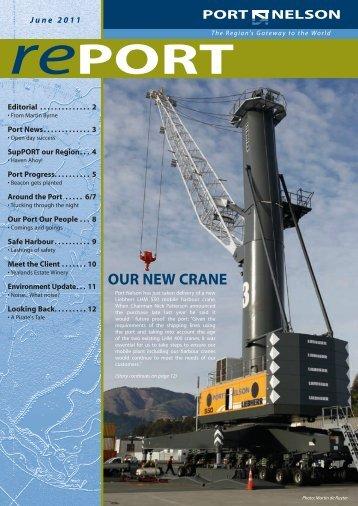 June 2011 (pdf) - Port Nelson