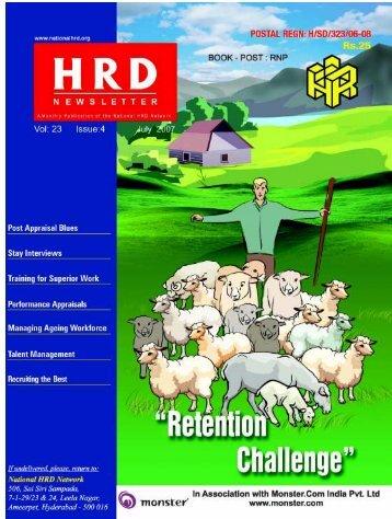 Managing Talent - National HRD Network