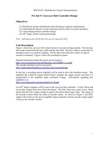 Pre-lab 5 - UBC Mechanical Engineering