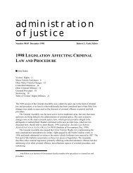 AOJ Bulletin 98/05 - School of Government - University of North ...