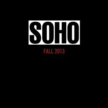 FALL 2013 - Soho Press