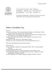 PDF 62 kB - New window - Språk - Lunds universitet