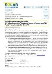 107%-PLUSENERGIEBAU - Solar Agentur Schweiz