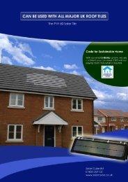 New PVt brochure - Solar Cube Ltd