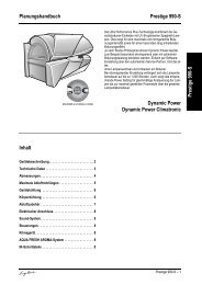 Technische Daten Ergoline Prestige 990-S