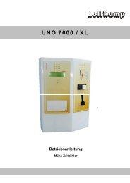 UNO 7600 / XL - Solarium Service AG