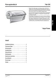 Technische Daten Ergoline Flair 250