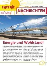 Energienachrichten 2/2009 hier downloaden - SOLARier ...