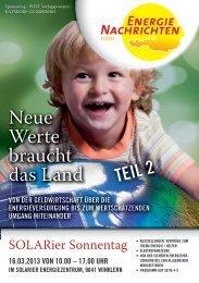 Energienachrichten 1/2013 Ausgabe Kärnten Download!