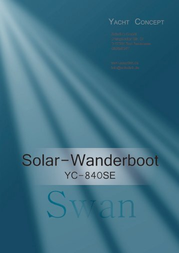 Solar-Wanderboot