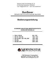 [SunSaver – Cover]