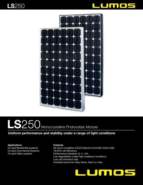 250 - the Solar Panel Store