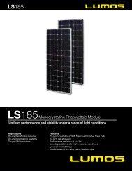 185 - the Solar Panel Store
