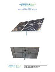 4X Top Of Pole Information - the Solar Panel Store