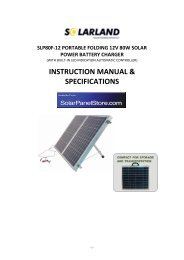 slp80f-12 portable folding 12v 80w solar power battery charger