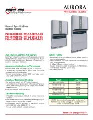 AURORA Photovoltaic Inverter - the Solar Panel Store