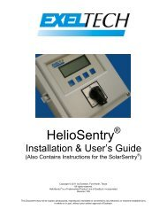 HelioSentry User Manual and Installation Guide - the Solar Panel ...
