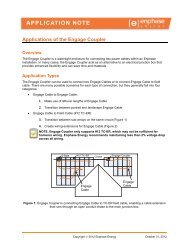 Engage Coupler Application Note - the Solar Panel Store
