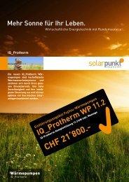 CHF 21'800.- - Solarpunkt AG