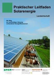Leitfaden Solaranlagen Bauernverband