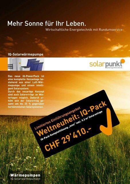 CHF 29'410.- - Solarpunkt AG