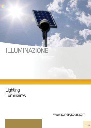 ILLUMINAZIONE - Solart.si